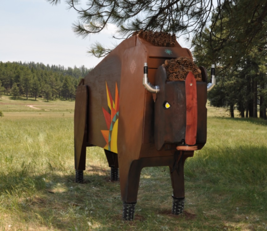 The Zia Bison from Sunburn 2017. Artist: Chelsea